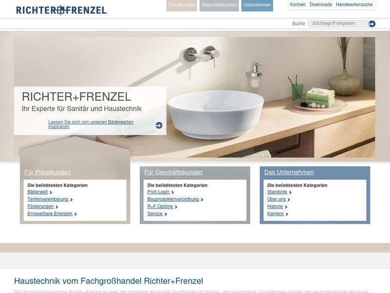 Screenshot von http://www.richter-frenzel.de/